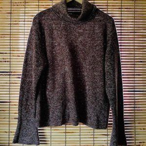 Axcess by Liz Claiborne Marled Brown Sweater